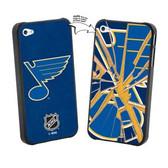 St. Louis Blues iPhone 4/4S NHL  Broken Glass Lenticular Case