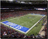 St Louis Rams Edward Jones Dome 2014 40x50 Stretched Canvas