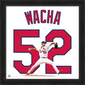 St Louis Cardinals Michael Wacha 20x20 Framed Uniframe Jersey Photo