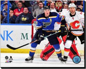 St Louis Blues T.J. Oshie 2014-15 Action 16x20 Stretched Canvas AARL087-248