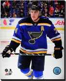 St Louis Blues T.J. Oshie 2014-15 Action 16x20 Stretched Canvas