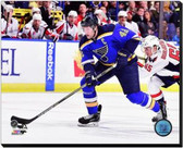 St Louis Blues David Backes 2014-15 Action 20x24 Stretched Canvas