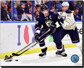 St Louis Blues David Backes 2014-15 Action 16x20 Stretched Canvas AARL055-248