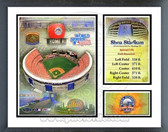 Shea Stadium 2008 Milestones & Memories Framed Photo