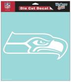 """Seattle Seahawks 8""""x8"""" Die-Cut Decal"""