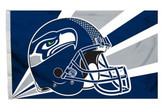 Seattle Seahawks 3'x5' Helmet Design Flag