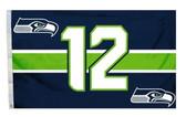 Seattle Seahawks 3'x5' Flag - 12th Man