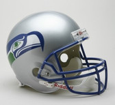 Seattle Seahawks 1983-2001 Throwback Riddell Deluxe Replica Helmet