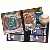 Seattle Mariners Mascot Ticket Album MLB