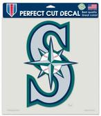 "Seattle Mariners Die-Cut Decal - 8""x8"" Color"