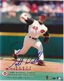 Scott Williamson Cincinnati Reds Rookie of the Year Signed 8x10 Photo