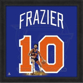 New York Knicks Walt Frazier Uniframe 20x20 Framed Uniframe Jersey Photo