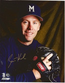 Scott Karl Milwaukee Brewers Signed 8x10 Photo