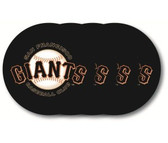 San Francisco Giants Coaster Set - 4 Pack