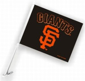 San Francisco Giants Car Flag