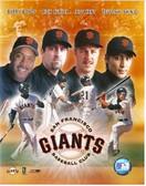 San Francisco Giants Big 4 Hitters 8x10 Photo