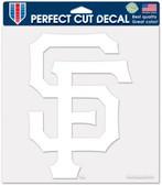 "San Francisco Giants 8""x8"" Die-Cut Decal"