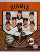San Francisco Giants 2012 Team Composite