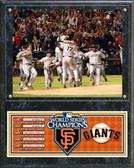 San Francisco Giants 2010 World Series Champions Team Celebration Plaque