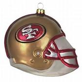 """San Francisco 49ers 3"""" Helmet Ornament 0194621951"""