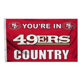 San Francisco 49Ers 3 Ft. X 5 Ft. Flag W/Grommets 94105B