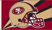 San Francisco 49ers 3 Ft. x 5 Ft. Flag w/Grommets