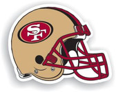 "San Francisco 49ers 12"" Vinyl Magnet Set Of 2"