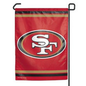 "San Francisco 49ers 11""x15"" Garden Flag"