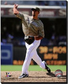 San Diego Padres Tyson Ross 2013 Action 20x24 Stretched Canvas