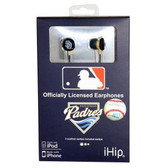 San Diego Padres iHip Logo Baseball Earbuds