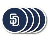 San Diego Padres Coaster Set - 4 Pack