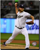 San Diego Padres Andrew Cashner 2013 Action 40x50 Stretched Canvas