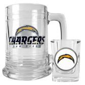 SAN DIEGO CHARGERS Shot Glass & Mug Set