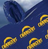 San Diego Chargers Rainmate Hooded Poncho