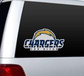 "San Diego Chargers Die-Cut 12""x12"" Window Film"