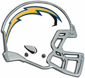 San Diego Chargers Auto Emblem - Helmet