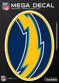 "San Diego Chargers 5""x7"" Mega Decal"