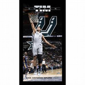 San Antonio Spurs Tim Duncan Player Profile Wall Art 9.5x19 Framed Photo
