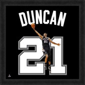 San Antonio Spurs Tim Duncan 20X20 Framed Uniframe Jersey Photo