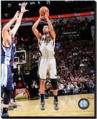 San Antonio Spurs Tim Duncan 2013-14 Action 16x20 Stretched Canvas