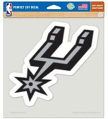 "San Antonio Spurs Die-cut Decal - 8""x8"" Color"