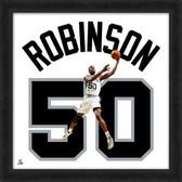San Antonio Spurs David Robinson 20X20 Framed Uniframe Jersey Photo