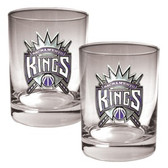 Sacramento Kings Rocks Glass Set