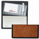 Sacramento Kings Leather/Nylon Embossed Checkbook Cover