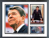 Ronald Reagan Commemorative Milestones & Memories Framed Photo