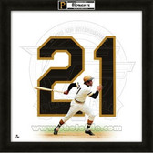 Roberto Clemente Pittsburgh Pirates 20x20 Framed Uniframe Jersey Photo