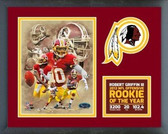 Robert Griffin III 2012 NFL Offensive Rookie of the year Milestones & Memories