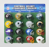 Riddell NFL Logo Helmet Tracker (32 Teams)