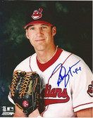 Richie Sexson Cleveland Indians Signed 8x10 Photo