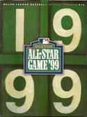 Red Sox 1999 MLB All Star Game Program